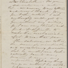 [Peabody], Elizabeth [Palmer, sister], ALS (incomplete) to. [1859].