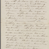 [Peabody, Elizabeth Palmer, sister], letter to. [1859?]. Extract, copied in unknown hand.