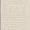 [Peabody,] Elizabeth [Palmer, sister], AL (incomplete) to. [1857-1860]. Previously: [n.d.]
