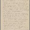 [Peabody, Elizabeth Palmer, sister], ALS (incomplete) to. [1860?].