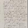 Peabody, Elizabeth [Palmer, sister], ALS to. [1861?].