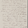 [Peabody,] Elizabeth [Palmer, sister], ALS to. [later 1861].