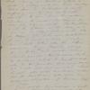 [Peabody,] Elizabeth [Palmer, sister], ALS to. Mar. 3, 1867.