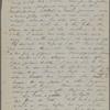 [Peabody,] Elizabeth [Palmer, sister], ALS to. Oct. 13, 1867.