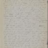 [Peabody,] Elizabeth [Palmer, sister], ALS to. [1870?].