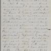 Hitchcock, E. A., ALS to SAPH. Dec. 8, 1862.
