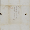 Hooper, G[?], ALS to SAPH. Sep. 28, [1846?].