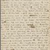 [unknown correspondent], letter (incomplete) to Maria [surname unknown]. Dec. 21, 1831. Accompanied Sophia Hawthorne MS material in Hawkins collection.