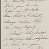 [Shaw], Sarah B., ALS to SAPH. [ca. Jun. 22, 1846].