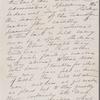 Mann, Mary [Tyler Peabody], ALS to Sarah [Clarke?]. Mar. 21, 1871.