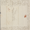 [Mann,] Mary [Tyler Peabody], ALS to SAPH. Sep. 19, 1823.