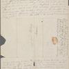 [Mann,] Mary [Tyler Peabody], ALS to SAPH. [Nov. 12?,  1832].