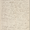[Mann,] Mary [Tyler Peabody], AL (incomplete) to SAPH. [winter 1832-1833?].