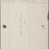 [Mann,] Mary [Tyler Peabody], ALS to SAPH. At end ALS from E[lizabeth] P[almer] P[eabody]. [Sep? 1833?].