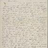 [Mann,] Mary [Tyler Peabody], ALS to SAPH. [Dec. 1835/Jan. 1836].