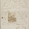 [Mann,] Mary [Tyler Peabody], ALS to SAPH. [Dec. 1835/Jan. 1836].