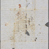 Mann, Mary [Tyler Peabody], ALS to SAPH. [Apr. 1846?]
