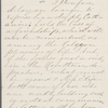 Allen, N. G., ALS to [Mary Tyler Peabody] Mann. Mar. 22, 1871.