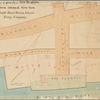 Map of property of New Brighton, Staten Island, New York, belonging to the North Shore Staten Island Ferry Company