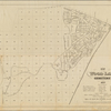 Map of the Wood Lawn Cemetery, 1877