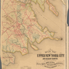 Map of upper New York City and adjacent country: showing the city above 125th street : the city of Yonkers and townships of East Chester, West Chester, Pelham and New Rochelle, and a portion of Mamaroneck