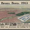 [Panoramic views of the Bronx: real estate auctions].