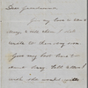 Hawthorne, Una, ALS to [Elizabeth Palmer Peabody], grandmother. Jul. 19, 1852.