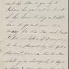 Hawthorne, Una, ALS to Elizabeth [Palmer Peabody], aunt. Oct. 29, 1853.