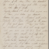 Hawthorne, Una, AL to Elizabeth [Palmer Peabody], aunt. Feb. 28, [1854]. With postscript by SAPH.