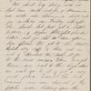 Hawthorne, Una, AL to Elizabeth [Palmer Peabody], aunt. May 7, [1854].