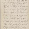 Hawthorne, Una, ALS to Elizabeth [Palmer Peabody], aunt. May 13, [1854].