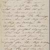 Hawthorne, Una, AL to Elizabeth [Palmer Peabody], aunt. Oct. [1854].