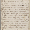 Hawthorne, Una, ALS to [Nathaniel Peabody], grandfather. Oct. 26, 1854. Postscript by SAPH.