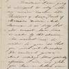Hawthorne, Una, ALS to [Nathaniel Peabody], grandfather. Nov. 9, 1854.