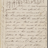 Hawthorne, Una, ALS to Elizabeth [Palmer Peabody], aunt. Aug. 26, 1856.