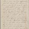 Hawthorne, Una, ALS to Elizabeth [Palmer Peabody], aunt. Oct. 9, 1856.