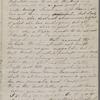Hawthorne, Una, ALS to Elizabeth [Palmer Peabody], aunt. Feb. 28 - May 22, 1859.