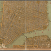 Map of the borough of Manhattan, New York City.