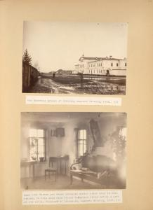 [The Siberian prison of Irkutsk, eastern Siberia, 1885; Room that Kennan and Frost occupied during their stay in Minusinsk?.]