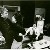 Mike Nichols, Elaine May, James Naughton and Swoosie Kurtz in the New Haven stage production Who's Afraid of Virginia Woolfe?