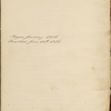 Commonplace Book. Jan. 1826 - Jun. 1826.