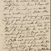 [Peabody, Elizabeth Palmer,] mother, ALS to SAPH. [1828?]