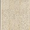 [Peabody, Elizabeth Palmer,] mother, ALS to SAPH. Apr. 27, 1834.