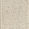 [Peabody, Elizabeth Palmer,] mother, ALS to SAPH and MTPM. [Oct. 1834].