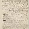 [Peabody, Elizabeth Palmer,] mother, ALS to SAPH and MTPM. Oct. 1834.