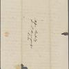 [Peabody, Elizabeth Palmer,] mother, AL (incomplete?) to SAPH and MTPM. [Nov.? 1834].