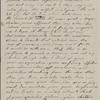 [Peabody, Elizabeth Palmer,] mother, AL to SAPH. [1838/39].
