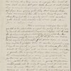 [Peabody, Elizabeth Palmer,] mother, ALS to SAPH. Jan. 8, 1847. [Previously: Jan. 8, 1844]