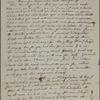[Peabody, Elizabeth Palmer,] mother, ALS (incomplete) to SAPH. Jan. [3?]-4, 1851.