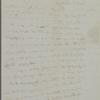 [Peabody, Elizabeth Palmer,] mother, AL to SAPH. May 8, [n.y.].